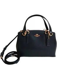 Coach Crossrain Kitt Carry All Leather Crossbody Bag