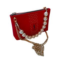Yves Saint Laurent Vegan Leather Crossbody Bag