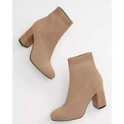 MIA™ Selia Tan Pull On Ankle Boot