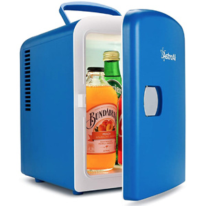 AstroAI Mini Fridge (5 Colors for Choice) 4 Liter/6 Can