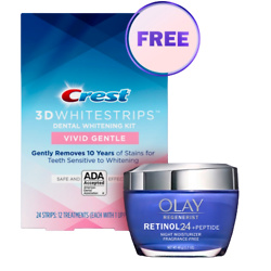 OLAY and Crest Gift Set
