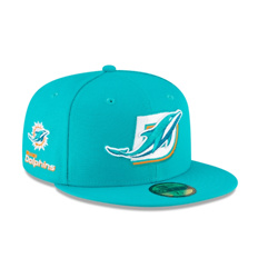 MIAMI DOLPHINS LOGO MIX 59FIFTY FITTED