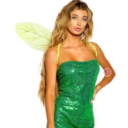 绿色小精灵闪光翅膀