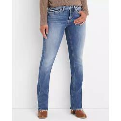 Silver Jeans Co.® Suki Slim Boot Curvy Mid Rise Jean