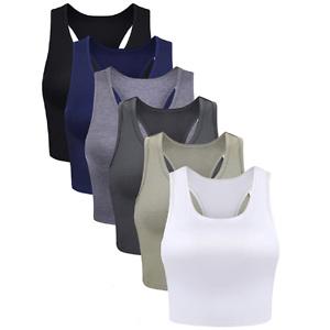 Boao 女士打底背心热卖(6件装)多色可选