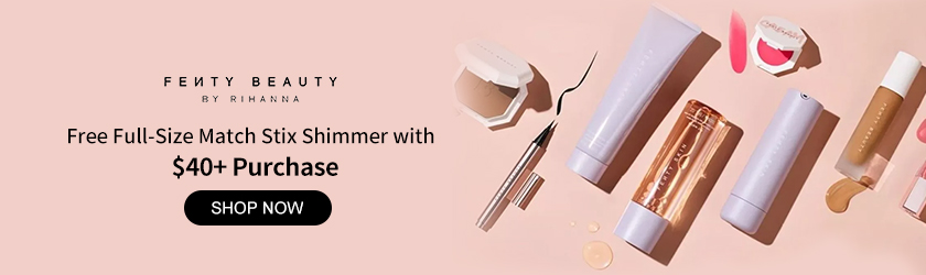 Fenty Beauty: Free Match Stix Shimmer with $40+ Purchase