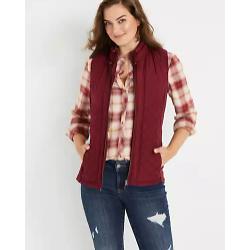 Solid Zip Up Vest