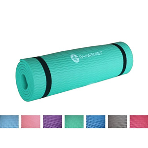 GYMENIST Thick Exercise Yoga Floor Mat