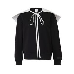 PATOU Sweatshirt with popepline collar