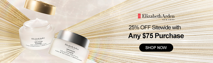 Elizabeth Arden: 25% OFF Sitewide with Any $75 Purchase