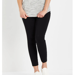 MAMA PRIMA MAIA POST PREGNANCY SKINNY ANKLE PANTS WITH POWERMESH BELLY