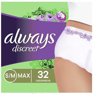 Always Discreet Incontinence & Postpartum Incontinence Underwear