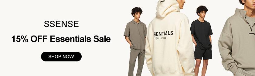 SSENSE: 15% OFF Essentials Sale