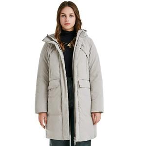 Luzern Goose 女式中长羽绒服保暖冬季大衣