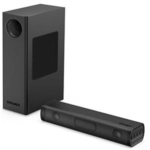 Amazon:带低音炮条形音响低至4.9折