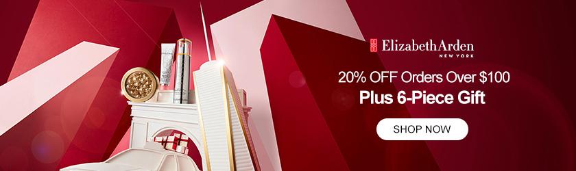 Elizabeth Arden: 20% OFF $100+ Plus 6-Piece Gift
