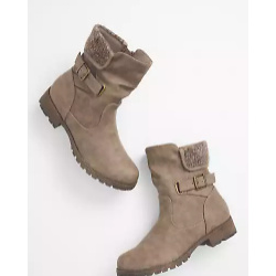 Beverly Knit Moto Boot