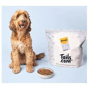 Tails.com UK: Tailored Dog Food with 75% OFF Your First Box