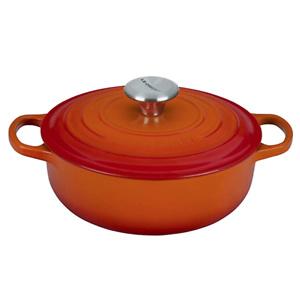Le Creuset Enameled Cast Iron Signature Sauteuse Oven, 3.5 qt