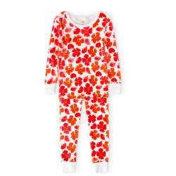 cotton pajamas poppies