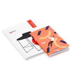 Sewn-bound diaries