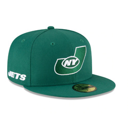 NEW YORK JETS LOGO MIX 59FIFTY FITTED