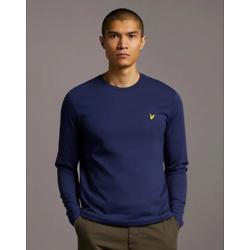 Plain L/S T-Shirt - Navy