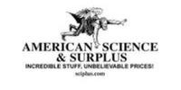 AMERICAN SCIENCE & SURPLUS Coupons