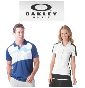 Oakley: All Oakley Polo Shirts $24.99