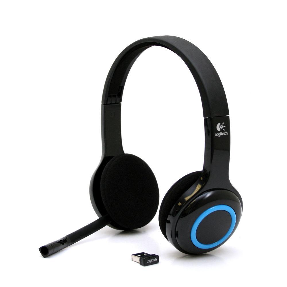 Logitech H600无线降噪耳机 找丢网面试专用耳机