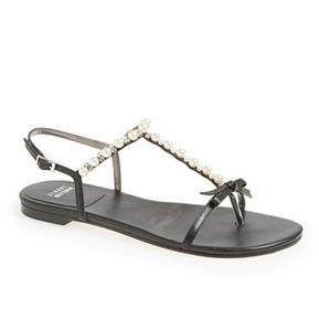 Stuart Weitzman 'Pearlize' 女式平底凉鞋