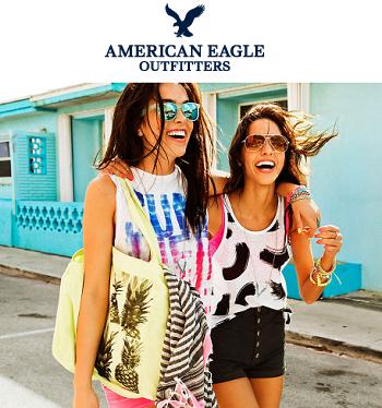 American Eagle: 精选夏季服饰等折扣高达60% OFF