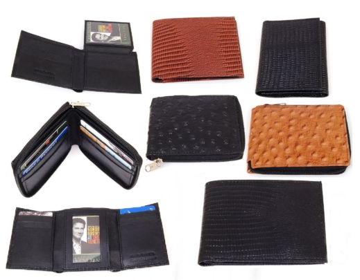 Genuine Leather Men's Wallets