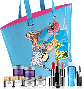 Bloomingdales: Free 7 Pc Gifts with Any $39.5 Lancome Purchase