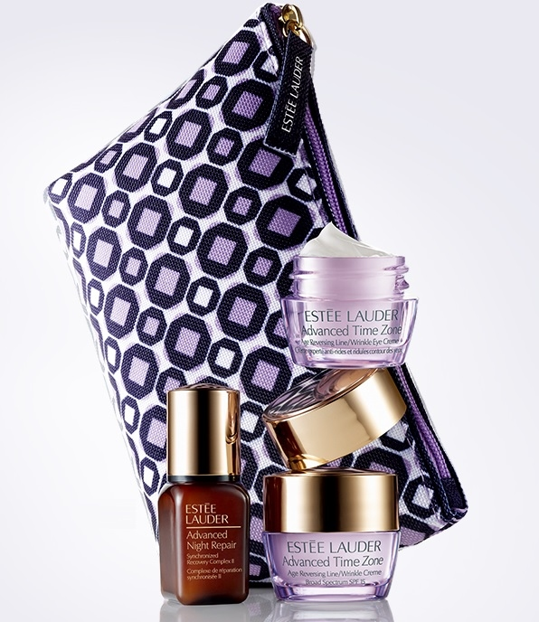 Estee Lauder: Free 4-piece Gift Set with any Two Skincare Purchase
