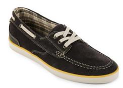 Clarks 男士 Jax Leather 船鞋