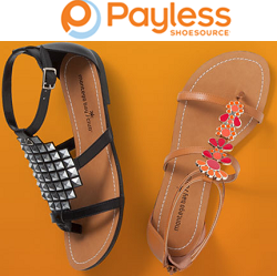 Payless Shoes: BOGO 50% OFF + Extra 20% OFF