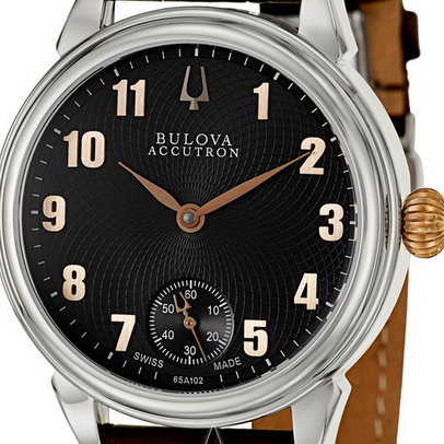 Bulova Accutron系列瑞士机械男表 65A102