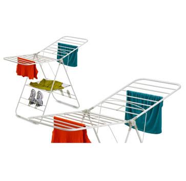 多功能移动折叠立式晒衣架