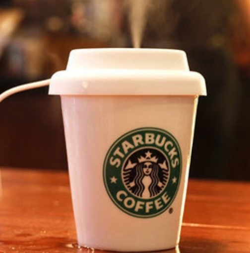 Starbucks bone china cups humidifier