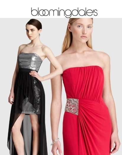 Bloomingdales: 女式礼服额外25% OFF,仅限今日