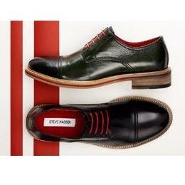 Myhabit: Steve Madden男士皮鞋最高半价优惠