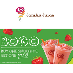 Jamba Juice: BOGO Free Smoothie