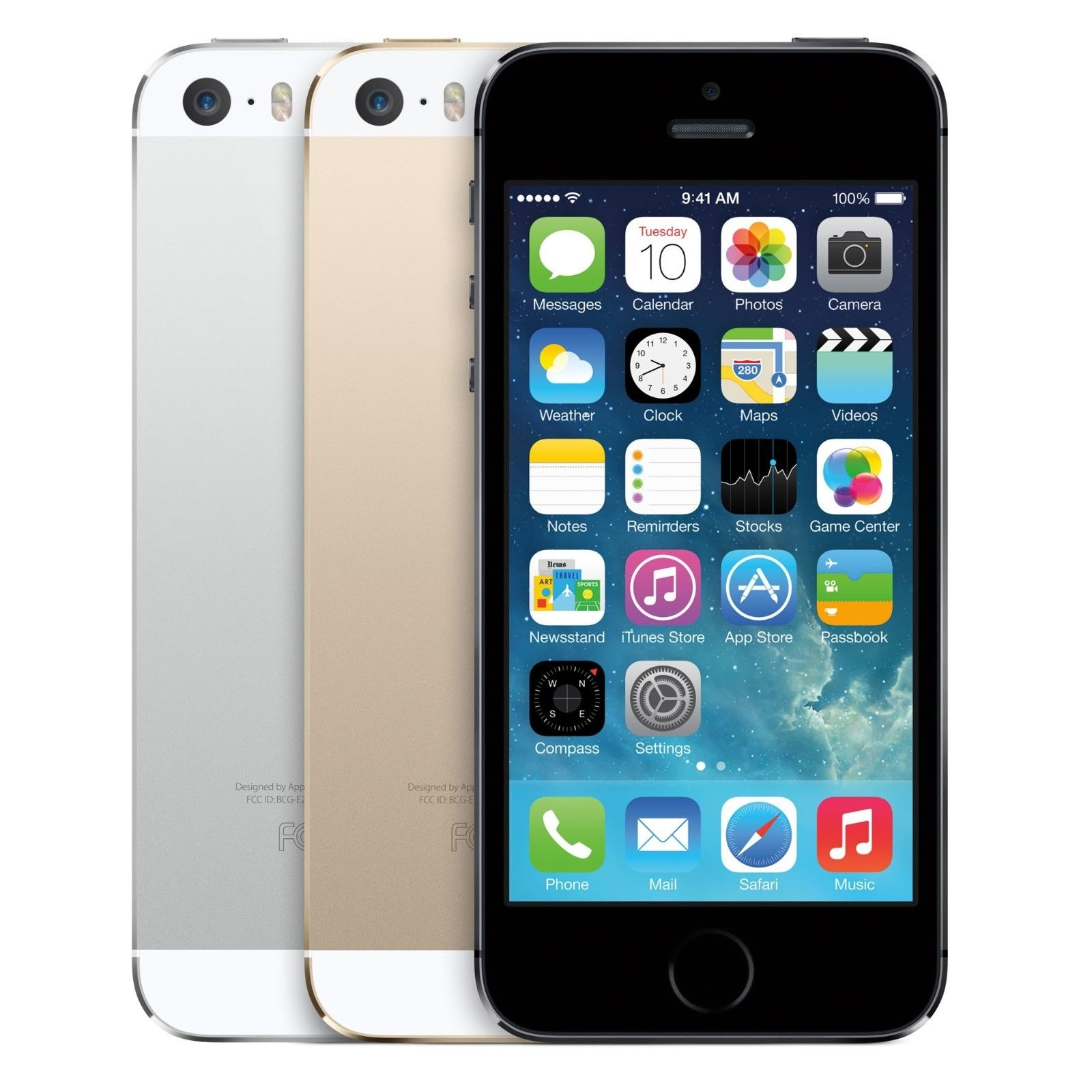 iPhone 5S 16GB Factory Unlocked Smartphone/iPad WiFi