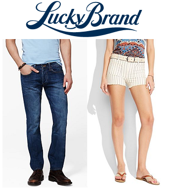 Lucky Brand: 特卖牛仔裤额外40% OFF + 免运费