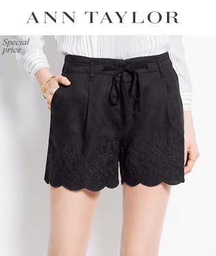 Ann Taylor: 精选长短款裤装享50% OFF