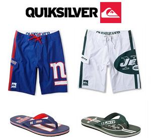 Quiksilver: BOGO Free Sport Team Boardshorts or Sandals