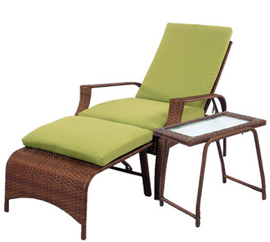 Logan 3-Piece Outdoor Patio Wicker Chair Set