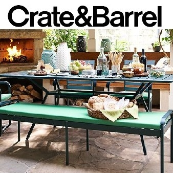 Crate & Barrel: Up to 20% OFF Selected Outdoor Furniture