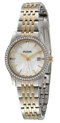 Pulsar 镶水晶女士手表 PH7235